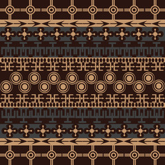 Texture with traditional ornaments