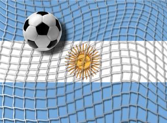 Football Argentina vector