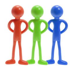 Miniature Rubber Figures