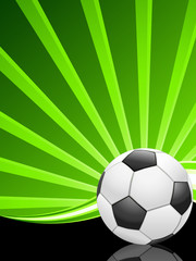 Fußballplakat
