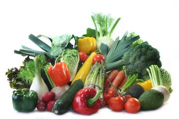Canvas Prints Fresh vegetables Gemüseeinkauf