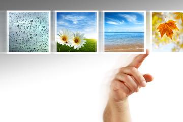 photos touchscreen