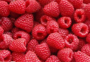 Fotobehang Vruchten Sweet raspberry