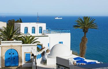 Foto op Canvas Tunesië maisons méditerranéenne