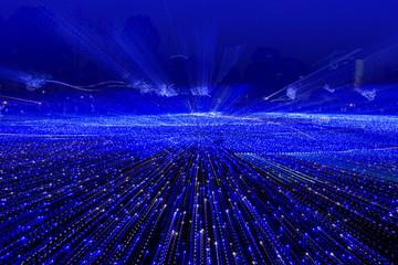 ブルーの光