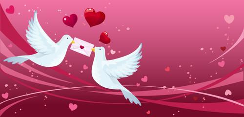 Loving doves
