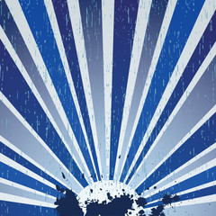 Abstract dark blue background with stains