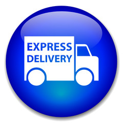 EXPRESS DELIVERY web button (free home online shopping)
