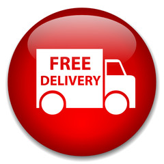 FREE DELIVERY web button (express online shopping home)