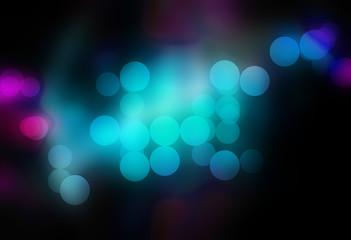 Blurred Bokeh Circles