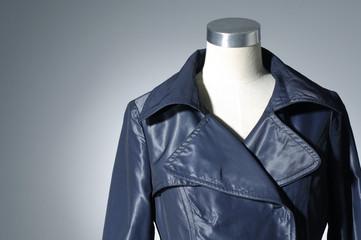 Stylish jacket isolated on light background