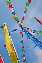 Tibetian flags