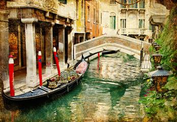 amazing Venice - vintage cards series