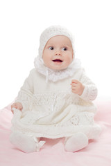 Prankish baby girl