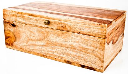 Wood Jewelry Storage Chest Box
