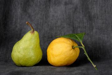pera e limone