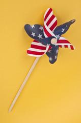 Patriotic USA Pinwheel