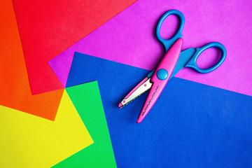 Color paper & scissors