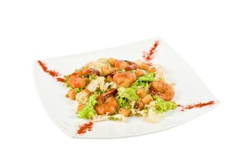 Shrimp tiger salad