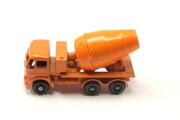 Orange Toy Cement Mixer
