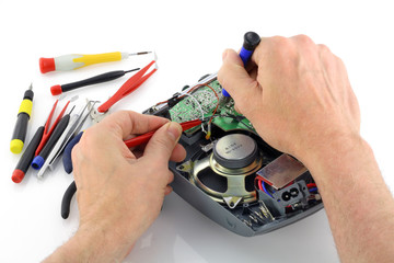 Repair  of the radio