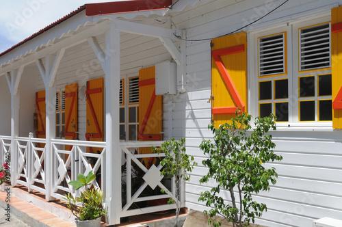 Guadeloupe maison aux saintes photo libre de droits sur for Acheter maison en guadeloupe