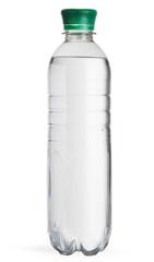 Full plastic water bottle