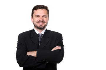 Portrait of a confident mature Caucasian business man