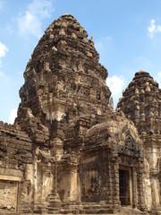 temple en Thaïlande : Wat Phrang Sam Yod, Lopburi
