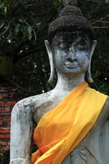 ayuthaya buddha image (front)