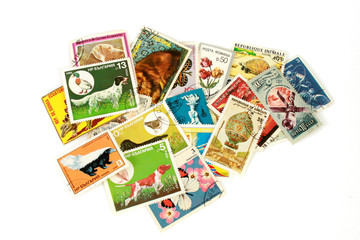 World post stamps
