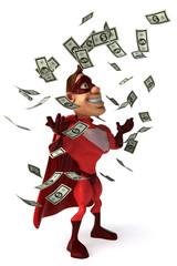 Superhéros et argent