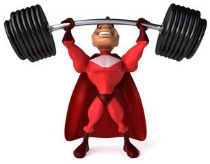 Superhéros super fort