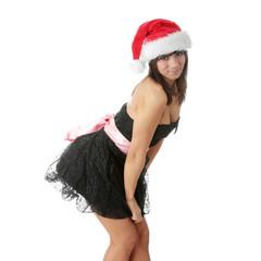 Santa-girl