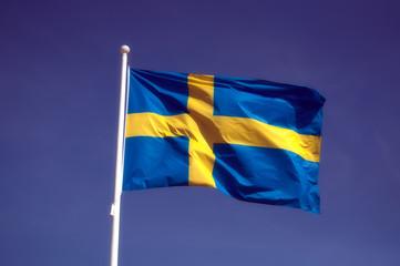 drapeau de la Suède
