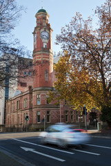 Clock tower, Launceston, Tasmania, Australia.