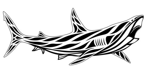 Shark, tattoo