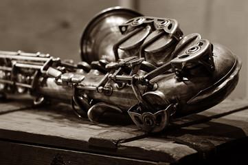 saxophone Fotobehang