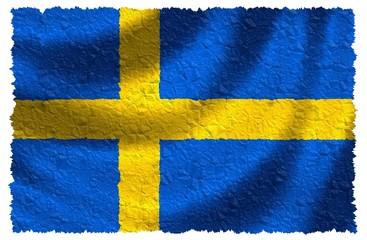 Nationalfahne von Schweden