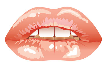 sexy lips. eps
