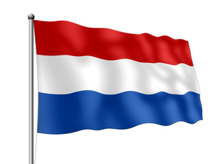Holland-Flagge