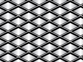 gray and black seamless vector geometrical pattern