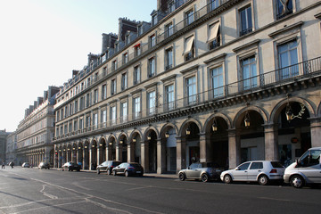 Rue de Rivoli, 1er arrondissement, Paris, France