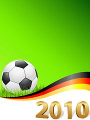 Deutschland im Fußballfieber 2010