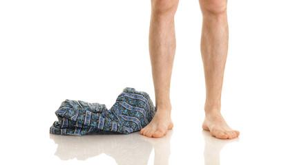 Mes's legs and panties