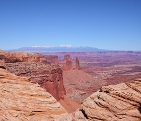 Canyon Landscape in the USA