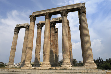 L'Olympieion à Athènes