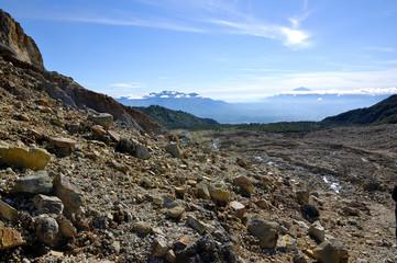 Rocky Mountain View on Papandayan