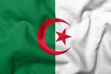 3D Flag of Algeria