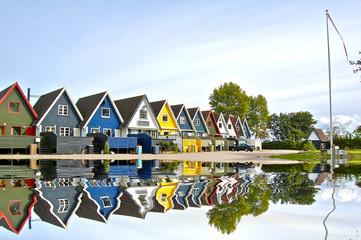Maisons danoises à Odense